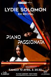 Lydie Solomon - Piano Passionata at Cortot, Paris